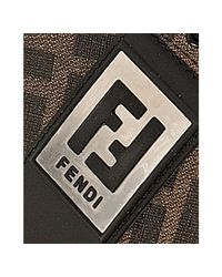 Fendi | Brown Logo Sneakers | Lyst