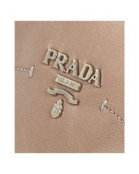 Prada - Sport Light Pink Leather Logo Detail Sneakers - Lyst