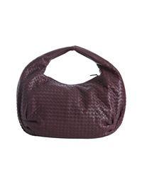 Bottega Veneta - Purple Bordeaux Woven Leather Large Hobo - Lyst