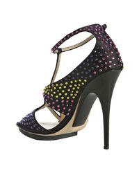 Giuseppe Zanotti | Black Sandals | Lyst