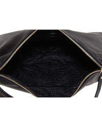 kate spade new york - Black Macdougal Alley - Janaya Metallic Leather Hobo - Lyst