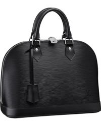 Louis Vuitton | Black Alma | Lyst