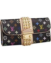Louis Vuitton | Black Courtney Clutch | Lyst