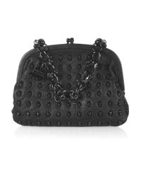 Thomas Wylde | Black Menace Skull-stud Leather Bag | Lyst
