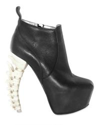 DSquared² | Black 160mm Nappa Spine Heel Ankle Boots | Lyst