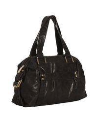 Kooba | Black Leather Samantha Shoulder Bag | Lyst