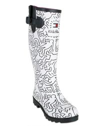 Tommy Hilfiger - White Keith Haring Limit.ed Rubber Boots - Lyst