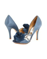 Badgley Mischka | Blue Randall Pump | Lyst