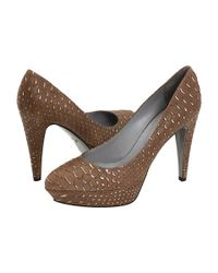Sergio Rossi | Brown Colby Pump | Lyst