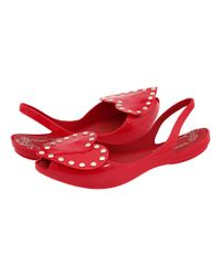 Vivienne Westwood | Red Anglomania + Melissa Zen Girl | Lyst