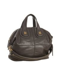 Givenchy | Gray Dark Grey Calfskin Nightingale Moyen Bag | Lyst