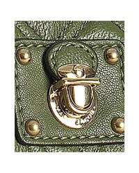 Marc Jacobs | Green Olive Quilted Leather The Single Flap Shoulder Bag | Lyst