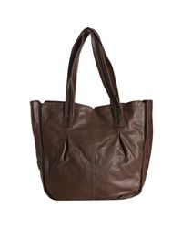 See By Chloé | Brown Leather Marti Zip Trim Bow Tote | Lyst