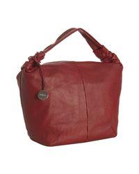 Furla | Red Cherry Leather Jasmine Medium Shoulder Bag | Lyst