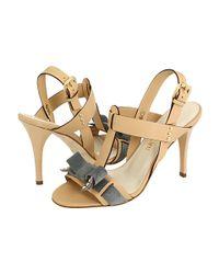 A.Testoni - Natural Leather Heels - Lyst