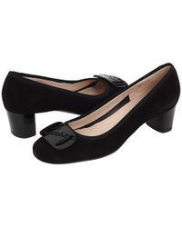 Ferragamo - Black Women's Heels - Lyst