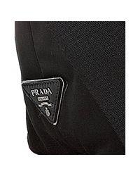 Prada - Black Nylon Reversible Tote - Lyst