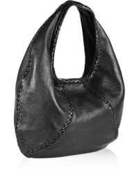 Bottega Veneta - Black Large Hobo - Lyst