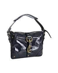Chloé | Blue Navy Patent Leather Kerala Mini Shoulder Bag | Lyst