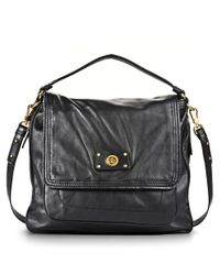 d256991f26bc Marc By Marc Jacobs Totally Turnlock Lydia Crossbody Bag in Black - Lyst