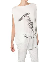 Tru Trussardi | White Crystal Lovers Limited Edition T-shirt | Lyst