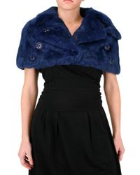Beayukmui | Blue Fur Jacket | Lyst