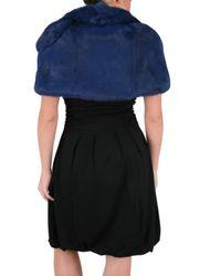 Beayukmui - Blue Fur Jacket - Lyst