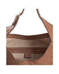 Gucci - Brown Cognac Ssima New Jackie Tassel Detail Hobo - Lyst