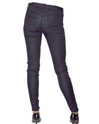 Kova & T - Blue Super Stretch Denim Leggings - Lyst