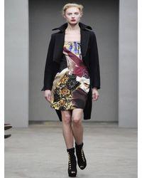 Mary Katrantzou - Multicolor Havey Crepe Boman Dress - Lyst