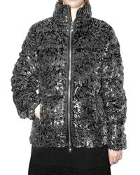 Pyrenex | Metallic Glitter Down Jacket | Lyst