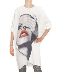 Richard Nicoll | White Printed Crepe De Chine Tunic Dress | Lyst