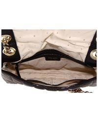 kate spade new york | Black Gold Coast Evangeline Leather Shoulder Bag | Lyst