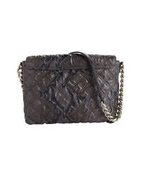 Marc Jacobs - Black The Single Quilted Python Bag - Lyst