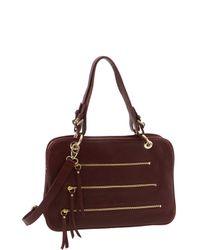 Sorial | Red Medium Accordion Satchel | Lyst
