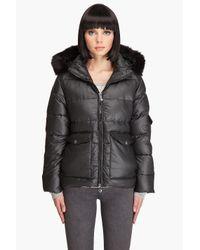 Pyrenex | Black Nostalgic Fur Jacket | Lyst