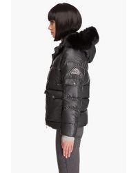 Pyrenex - Black Nostalgic Fur Jacket - Lyst