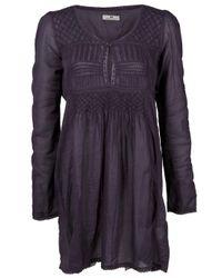 Day Birger et Mikkelsen | Purple Feminine Winter Long Sleeve Dress | Lyst