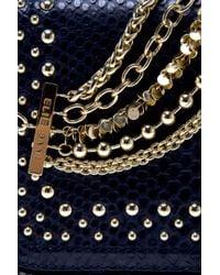 Eastland - Black Studded Python Bag - Lyst