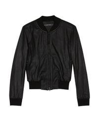 Lot78 | Black Drew Leather Jacket | Lyst