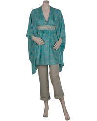 Paul & Joe - Blue Gladys Silk Kaftan Dress - Lyst