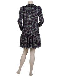 Proenza Schouler | Black Floral-print Dress | Lyst