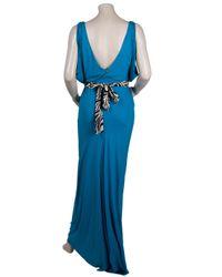 T-bags - Blue Long Sleeveless Dress - Lyst