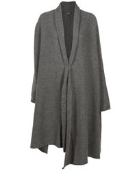 The Row | Gray Turnipseed Long Cardigan | Lyst
