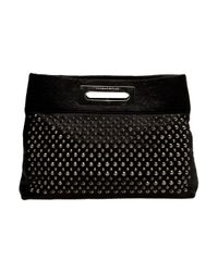 Thomas Wylde | Black Studded Leather Clutch | Lyst
