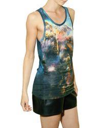 Christopher Kane - Multicolor Mystic Print Jersey Tank Top - Lyst