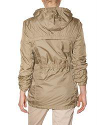 Closed - Brown Nylon Parka Jacket - Lyst