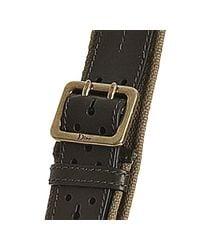 Dior - Green Leather Lattice Pocket Shoulder Bag - Lyst