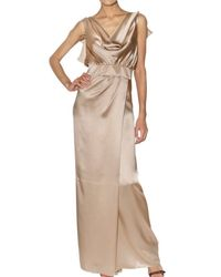 DSquared² | Natural Chloecelin Long Dress | Lyst