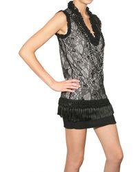 Givenchy - Black Lace Dress - Lyst